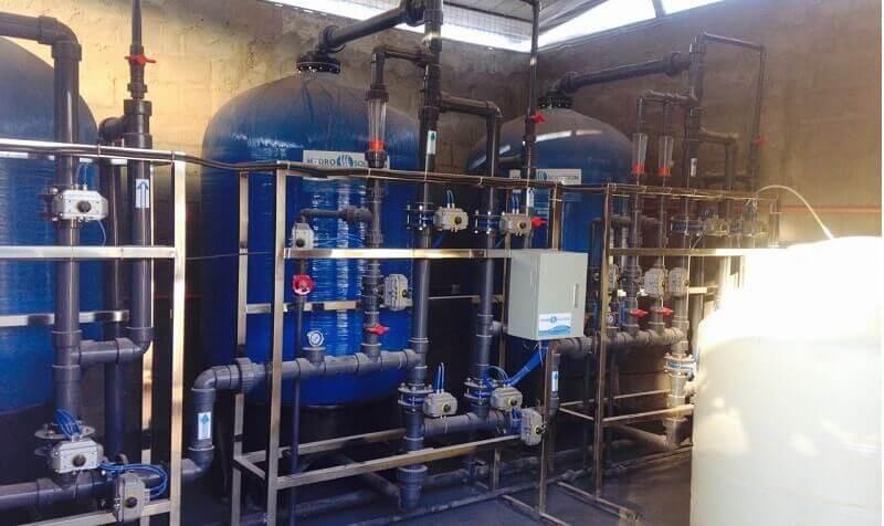 Diseño e instalación de plantas y equipos para aguas de riego