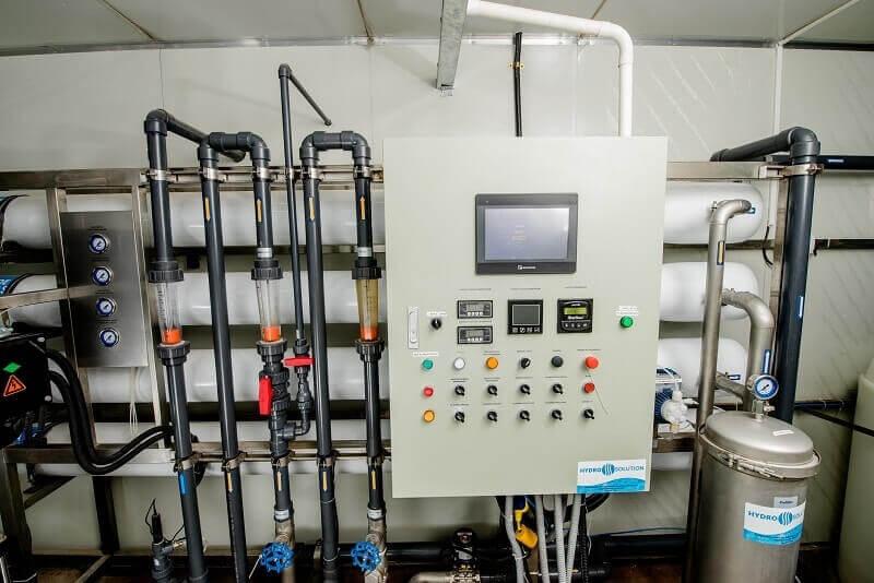 Plantas y equipos para agua potable